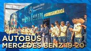 El nuevo autobús Club América Mercedes Benz 2019-2020