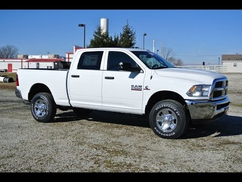 2014 ram 2500 tradesman truck white for sale dealer dayton troy piqua sidney ohio 26933t youtube. Black Bedroom Furniture Sets. Home Design Ideas