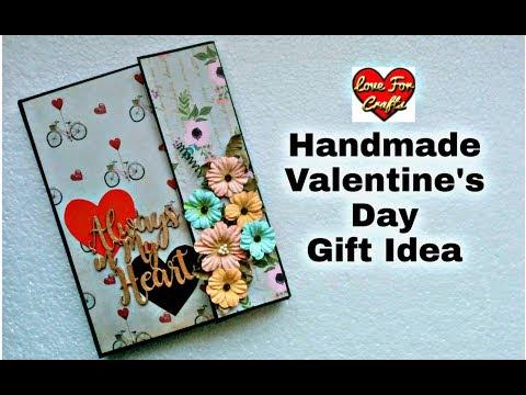 Handmade Valentine's Day Gift Idea | Valentine's Day Card Making
