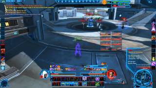 SWTOR Darkness Assassin PvP 3.2 - The Annoying Tank At Mid on Civil War HD