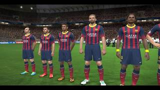 إكتشاف لعبة PES 2014 Gameplay PC arabic