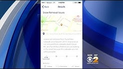 App Lets Users Tell Officials When Neighbors Don't Shovel