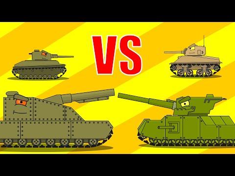 Мультики про танки - Левиафан ( 4 серия )