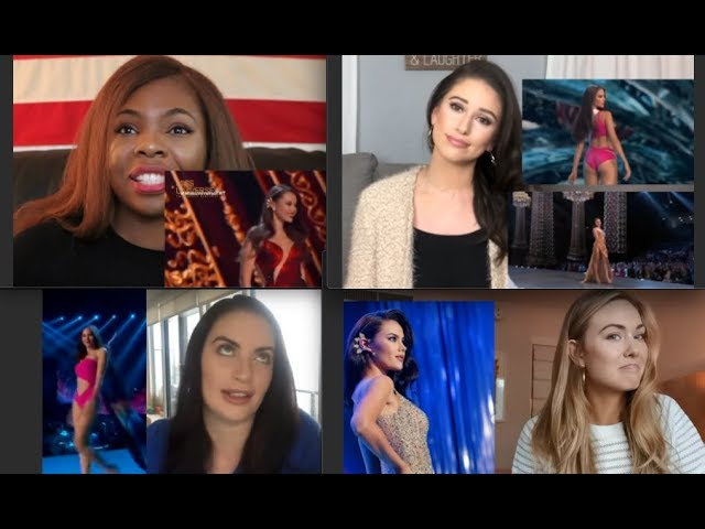 Must Watch Former Beauty Queens Best Commentaries And Reactions Miss Universe 2018 Catriona Gray