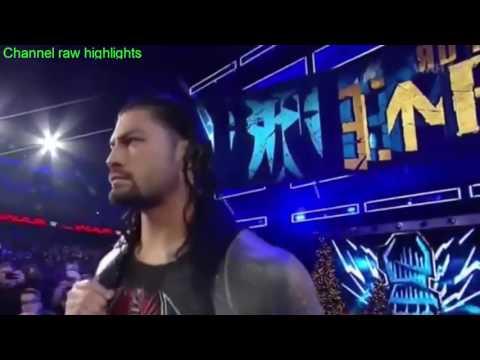 WWE Raw 31 December 2016 Full Show HD   WWE Raw 12 31 16 Full Show