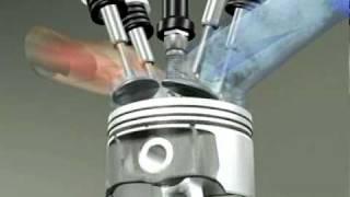 Fonctionnement d'un moteur 4 temps essence