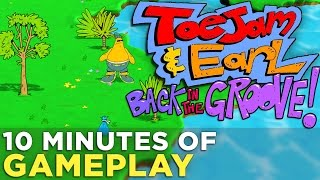 10 Minutes of TOEJAM AND EARL: BACK IN THE GROOVE Gameplay