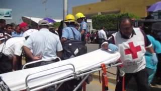 SE ACCIDENTA ELEMENTO DE LA #FSPE DURANTE DESFILE DE LAS BATALLAS DE CELAYA
