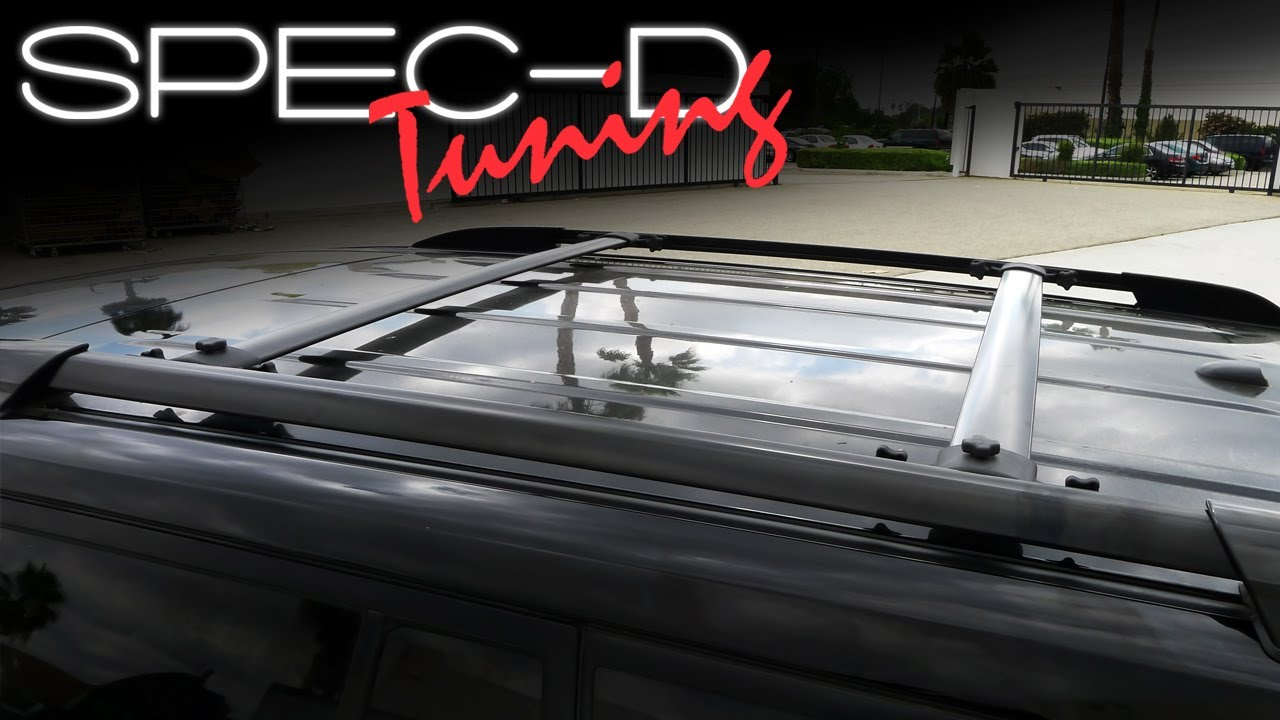 Specdtuning Installation Video 2008 2013 Toyota Highlander Roof Rack