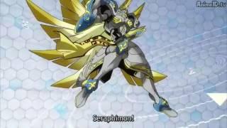 Seraphimon Adventure Tri - - El Advenimiento Del Angel