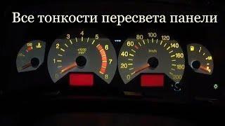 Как заменить лампочки в приборной панели Chevrolet Niva