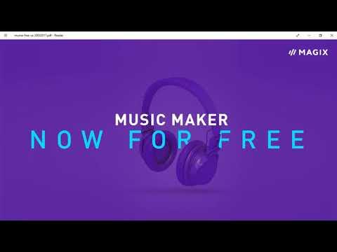MAGIX Music Maker 2017 Free - A Quick Intro
