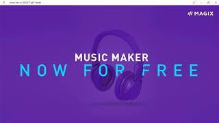 MAGIX Music Maker FREE 2017 - A Quick Intro