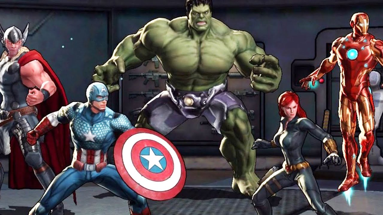 marvel avengers alliance 2 part 6 free avenger youtube - Avengers Marvel