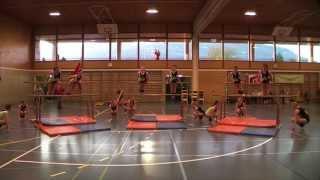 Damenriege Holziken an der Kreismeisterschaft 2010
