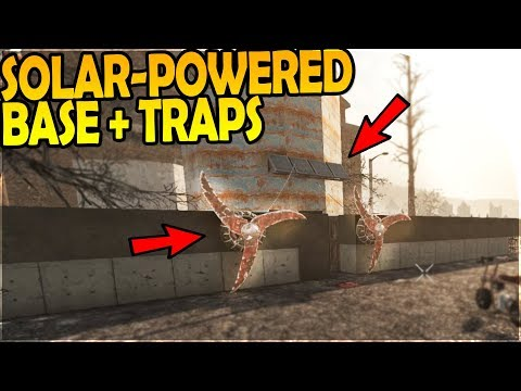SOLAR-POWERED BASE + NEW TRAPS + BASE BUILDING! - 7 Days to Die Alpha 16 Gameplay Part 36 (Season 2)