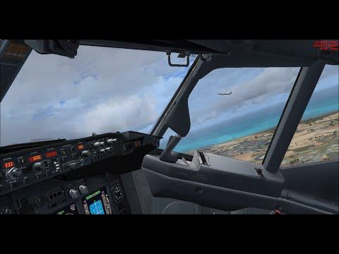 [FSX VATSIM] Taipei to Manila Approach scene