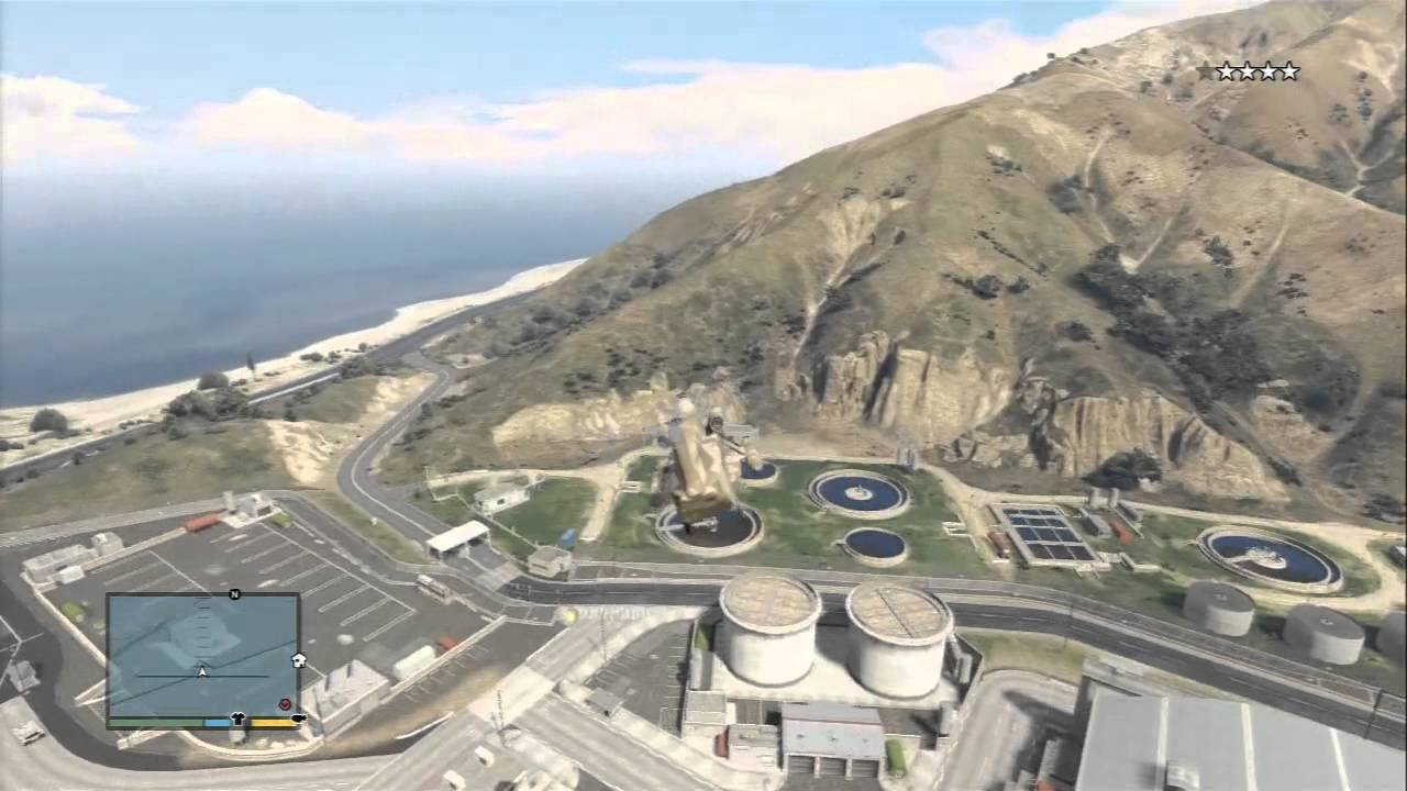 GTA V TUTORIAL: GETTING THE CARGOBOB IN THE MILITARY BASE ...