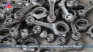 プロのコネクティングロッド鍛造ハンマーと鍛造プロセス