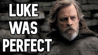 Luke Was Written PERFECTLY In The Last Jedi