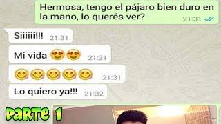 Las 10 Conversaciones de WhatsApp mas GRACIOSAS de la Historia