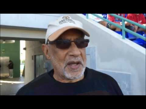 Randy Horton Before Bermuda vs New York Cosmos Game, March 19 2017