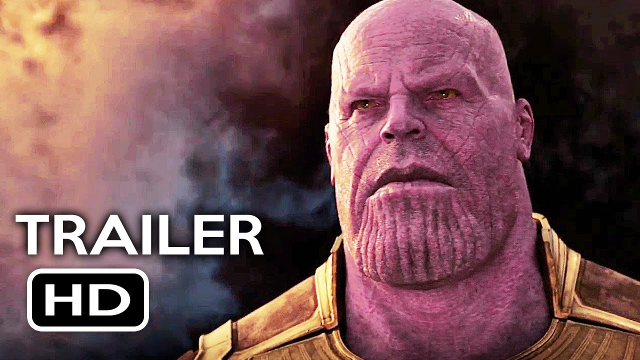 avengers: infinity war official trailer #1 (2018) marvel superhero