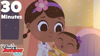 Video Rock-a-bye Baby (30 Minute Version)  🍼  | 🎼  Disney Junior Music Nursery Rhymes | Disney Junior download MP3, 3GP, MP4, WEBM, AVI, FLV Januari 2018