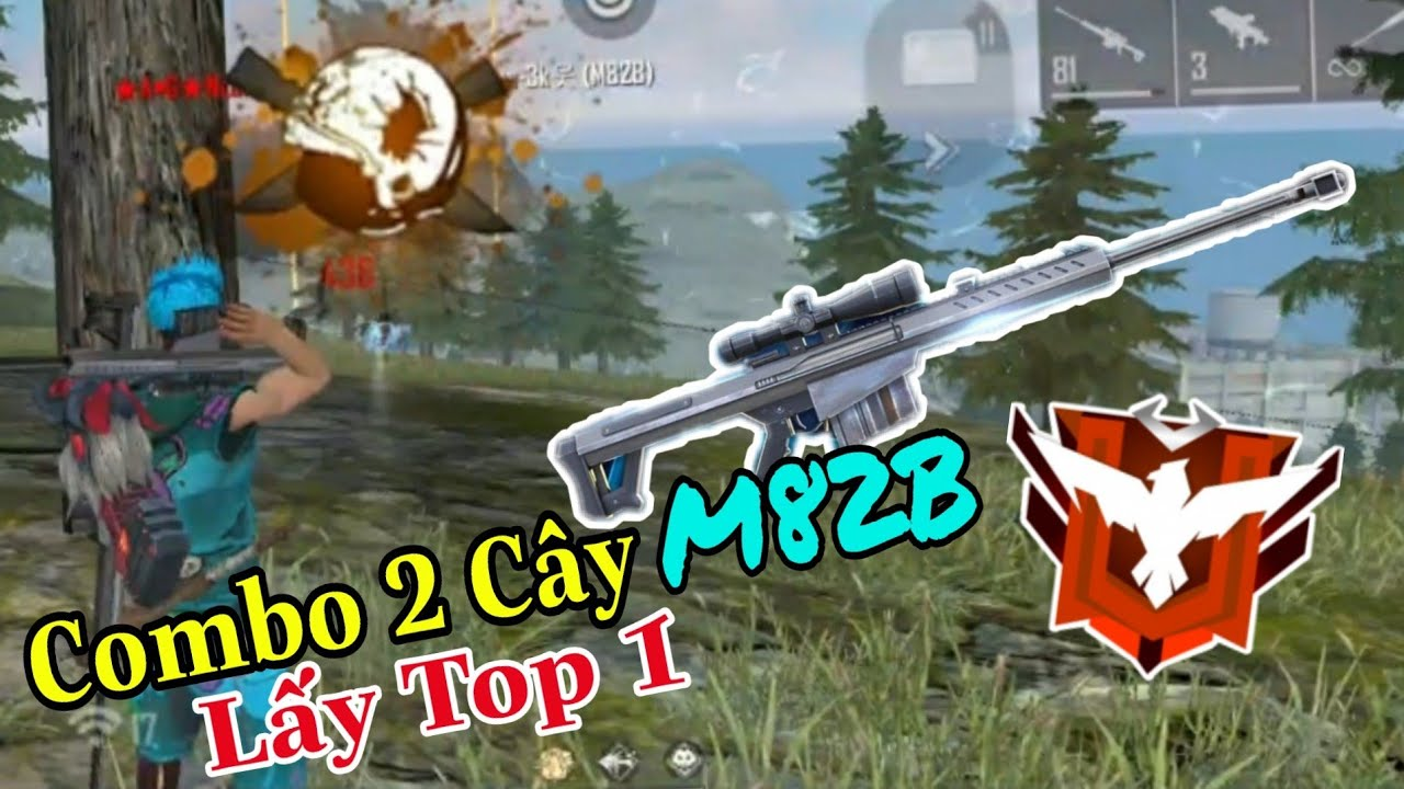 (FREEFIRE) Thử Thách 2 Cây M82B Lấy Top 1 Ở Rank Huyền Thoại, M82B Vẫn Bị Lỗi Dame ?