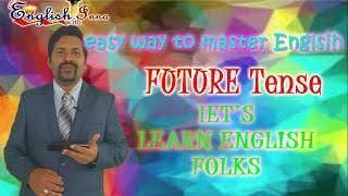 How to learn English - easy learning of Future tense