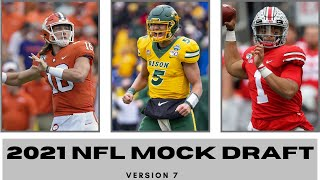 2021 NFL Mock Draft 7.0