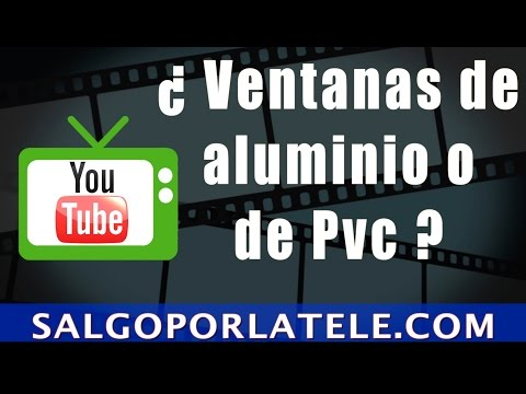 Pvc o aluminio ventanas de pvc o ventanas de aluminio - Ventanas de aluminio o pvc precios ...