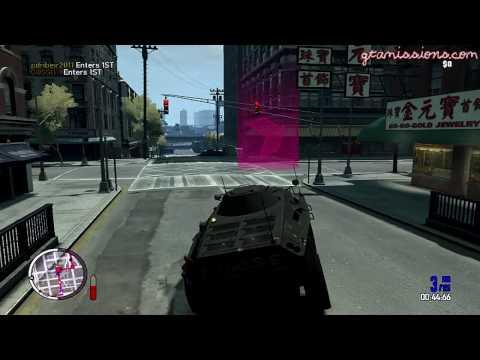 GTA IV: TBOGT - PC - Online GTA Race - APC's Only!