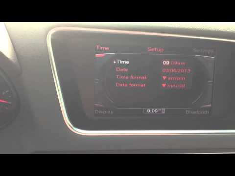 how-to-set-clock-on-audi