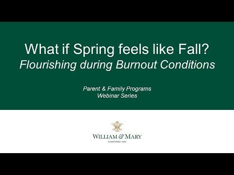 What if Spring Feels Like Fall?