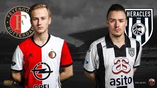 Quinten van der Most - Bryan Hessing | Feyenoord - Heracles Almelo | Speelronde 34 | E-Divisie