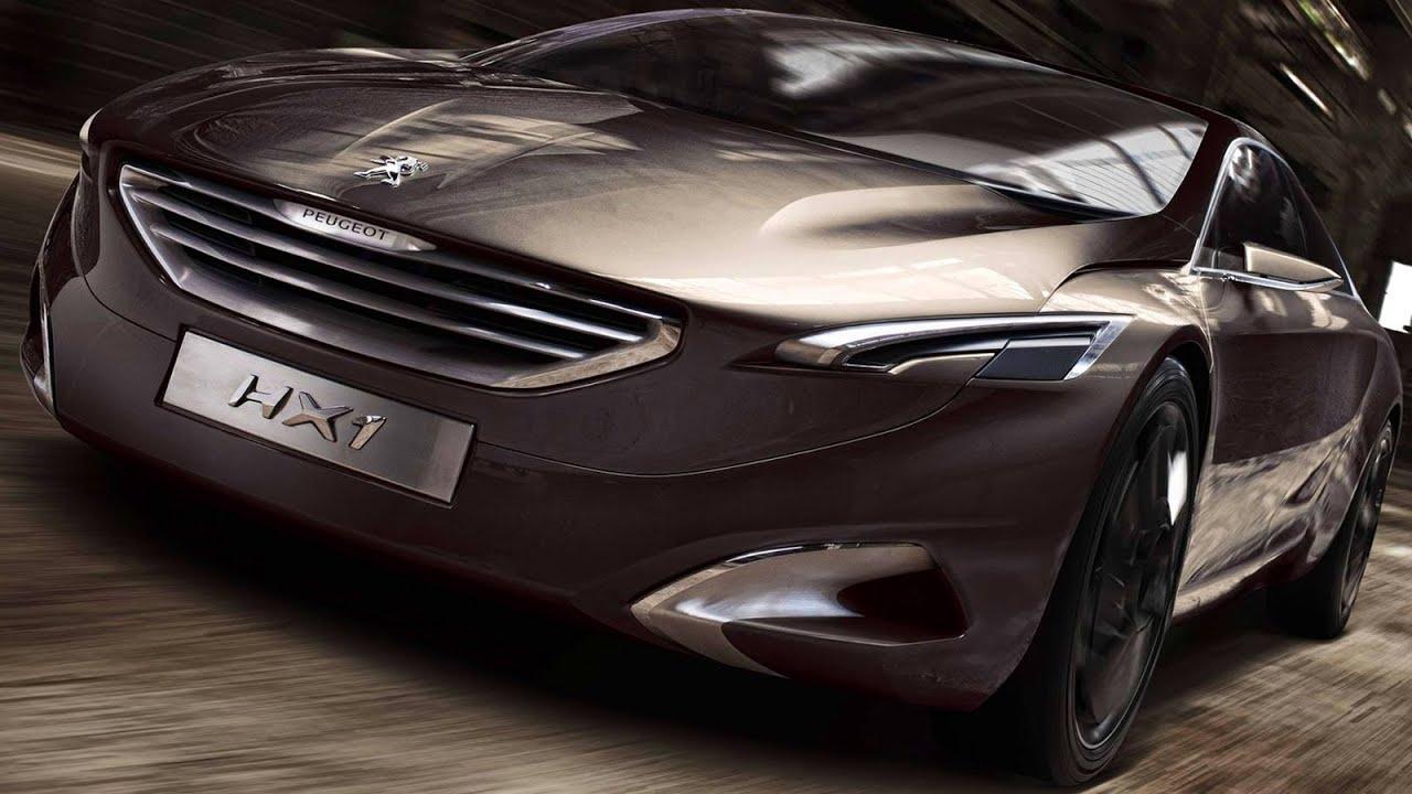 PRÉVIA Novo Peugeot 608 2014 @ HX1 Concept - YouTube