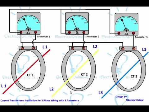 ammeter selector rotary switch wiring diagram with ct for 3