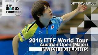 2016 Austrian Open Highlights: Kenta Matsudaira vs Hugo Calderano (Final)