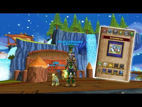 Wizard101: FIRST HOUSE I'VE EVER CRAFTED!