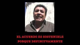Dirigente antiminero PEPE JULIO GUTIERREZ pide UN MILLON Y MEDIO DE DOLARES PARA DETENER VIOLENCIA