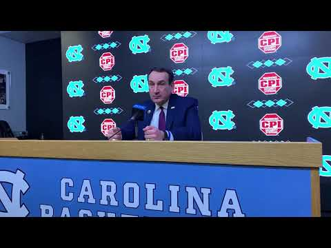 Coach K Duke vs UNC Part II Postgame Press Conference