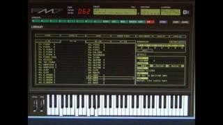 Yamaha DX7 Emulator Software - FM7 - Patch - 062   Harp 2