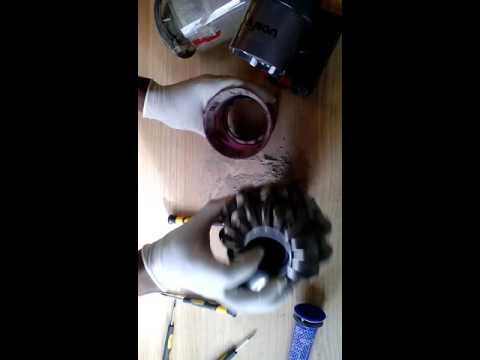 How To Dis Emble And Clean Dyson V6 Cyclone