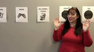Sign Language Corner with Ruthie: Let's learn 10 core words in ASL!