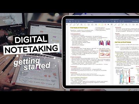 DIGITAL NOTETAKING | Getting Started