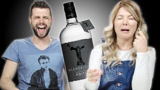 Irish People Taste Test Irish Moonshine (Poitín)