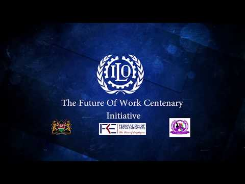 ILO Future of Work Centenary Initiative - Siddharth Chatterjee, UNRC and UNDP RR for Kenya Remarks