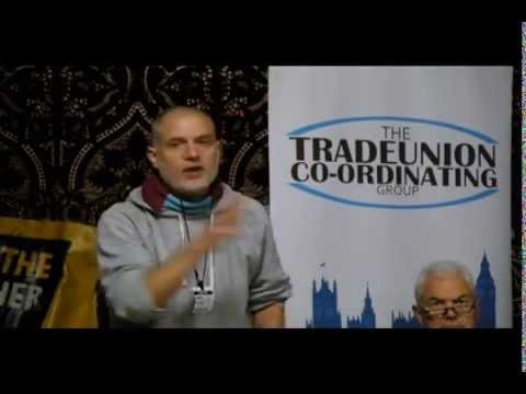 Unite The Resistance speech at Trade Union Co-ordinating Group