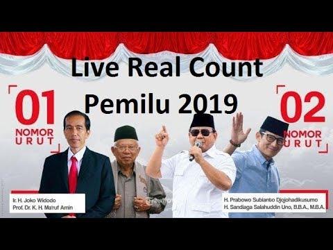 [LIVE] Ayo Kawal KPU Bersama!! Real Count Minggu Terbaru Pemilu Presiden 2019